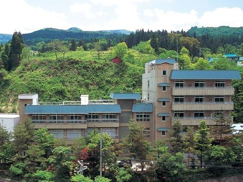 ホテル観山の外観